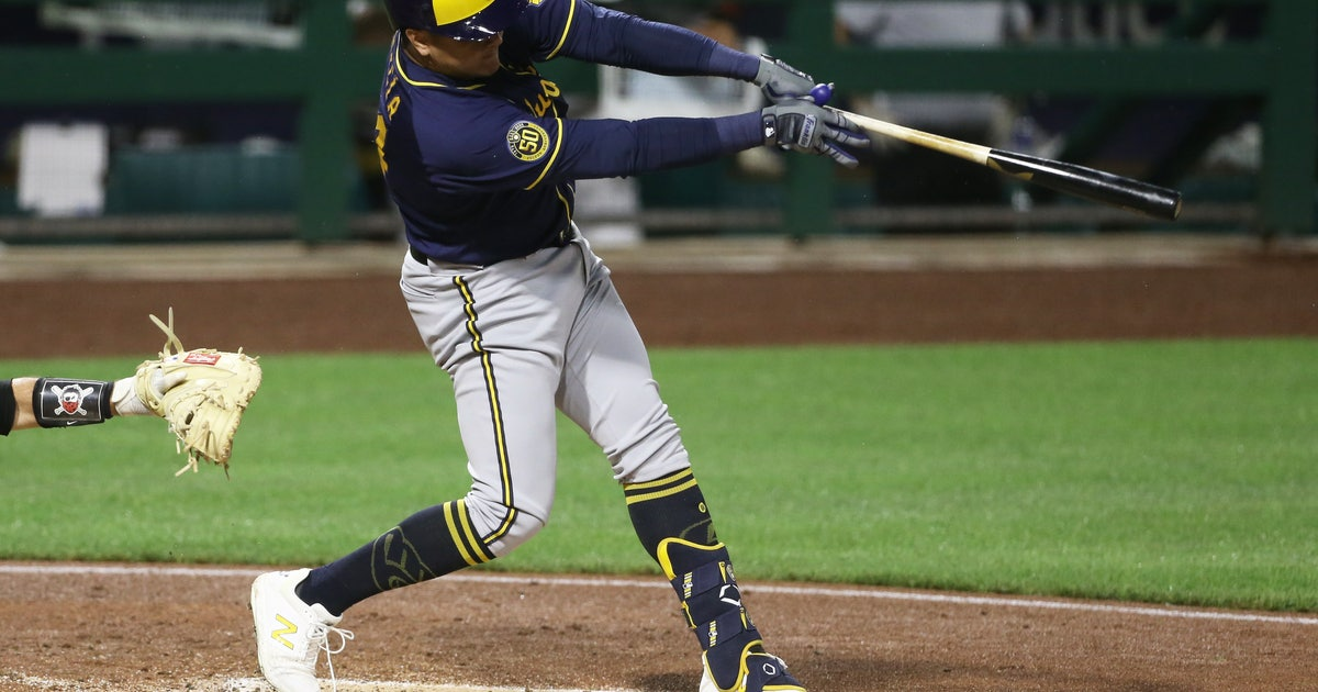 Brewers' Garcia showing marked improvement in plate discipline