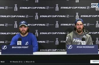 Brayden Point, Ryan McDonagh examine Lightning's Game 3 victory