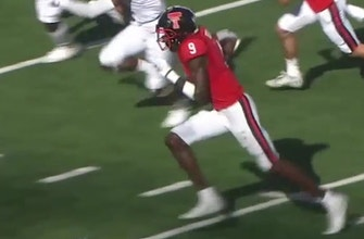 TJ Vasher scores 29-yard touchdown to pull Texas Tech within one score of Texas
