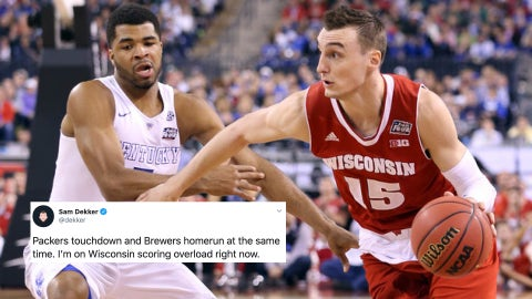 Sam Dekker, former Badgers forward