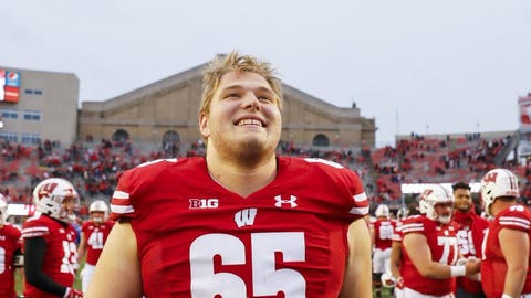 Blake Smithback, Badgers offensive guard