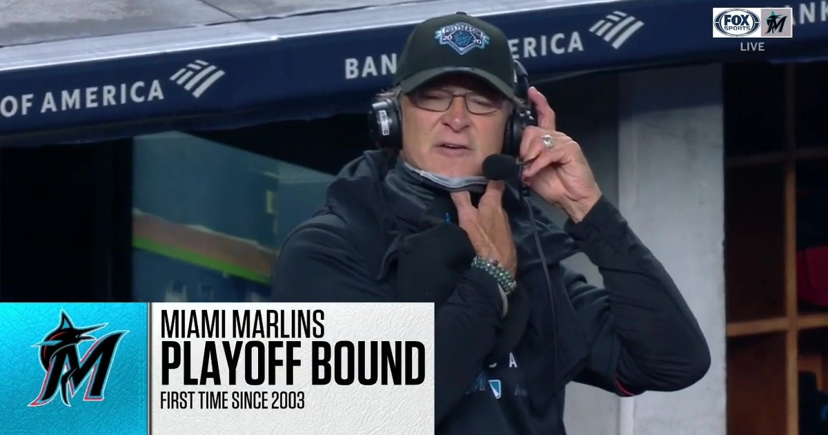 Don Mattingly on Marlins securing spot in postseason (VIDEO)
