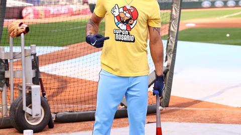 Eddie Rosario, Twins outfielder