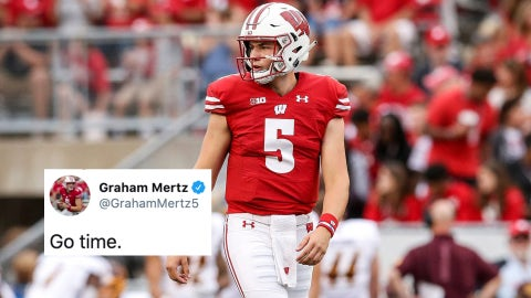 Graham Mertz, Badgers quarterback