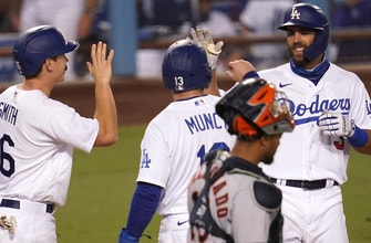 A.J. Pollock, Chris Taylor homer as Dodgers blow out Astros, 8-1 thumbnail
