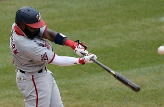 Nationals jump out to early 2-0 thanks to Josh Harrison's RBI single