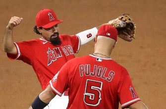 Anthony Rendon, Albert Pujols lead Angels to 7-6 win over Astros, doubleheader sweep