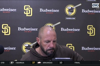 Jayce Tingler talks after Padres 6-2 win