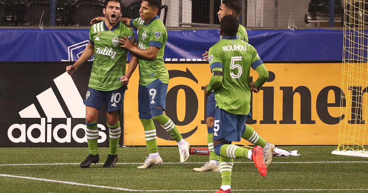 Nicolás Lodeiro scores two as sounders shutout LAFC 3-0 (VIDEO)