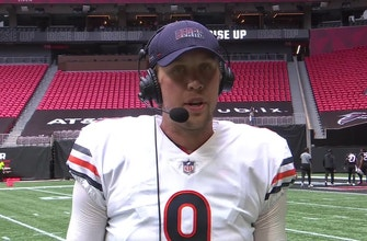 Nick Foles after leading Bears to win Im thankful for Mitch and the teammate he is
