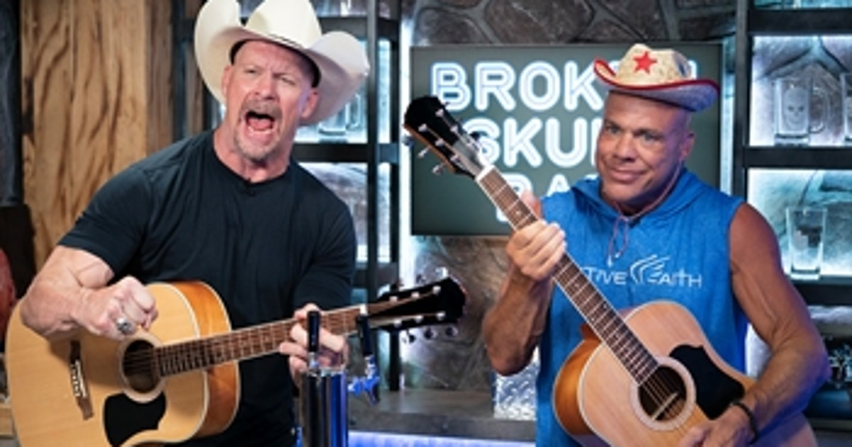 """""""Stone Cold"""" Steve Austin and Kurt Angle reform their band: Broken Skull Sessions extra (VIDEO)"""