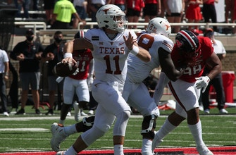 Sam Ehlinger racks up six total TDs in No. 8 Texas' wild 63-56 OT win over Texas Tech