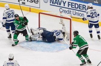 Pavelski Ties Game in 3rd, Stars fall in Game 4 in OT