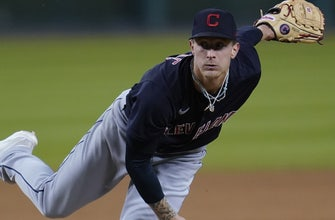Indians hold on in 9th for 1-0 victory over Tigers