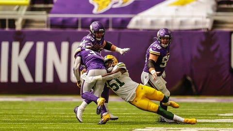 Krys Barnes, Packers linebacker