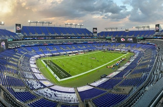 Experience Ravens vs Chiefs Monday Night Football pregame at empty MT Bank Stadium