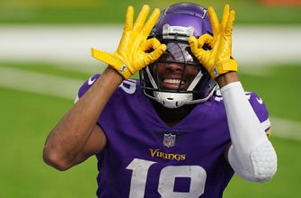 Vikings Snap Counts Rookie Jefferson flashes star potential