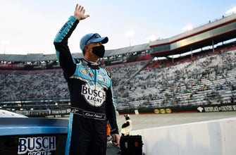 Winners Weekend Kevin Harvick on his Bristol win and holding off Kyle Busch in the closing laps