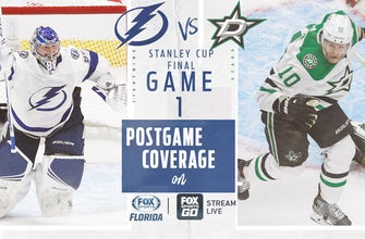 Preview: Lightning, Stars clash as Stanley Cup Final begins