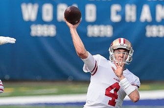 Nick Mullens injury-riddled 49ers dominate Giants in 36-9 rout