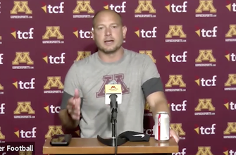 Fleck, Gophers on Bateman's return: 'He did it for the team' 				...