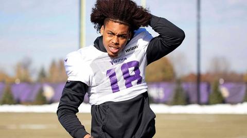 Justin Jefferson, Vikings receiver