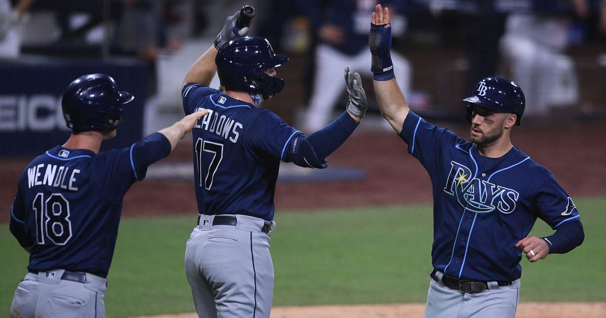 Rays ride 5-run 6th inning to 3-0 advantage over Astros in AL Championship Series