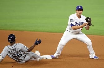 Rays fall to dominant P Walker Buehler, Dodgers in Game 3 of the World Series