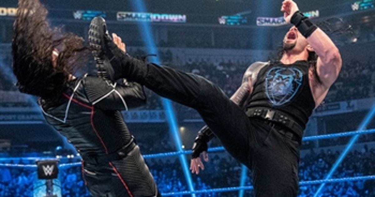 Shinsuke Nakamura vs. Roman Reigns – Intercontinental Title Match: SmackDown, Oct. 18, 2019 (Full Match) (VIDEO)