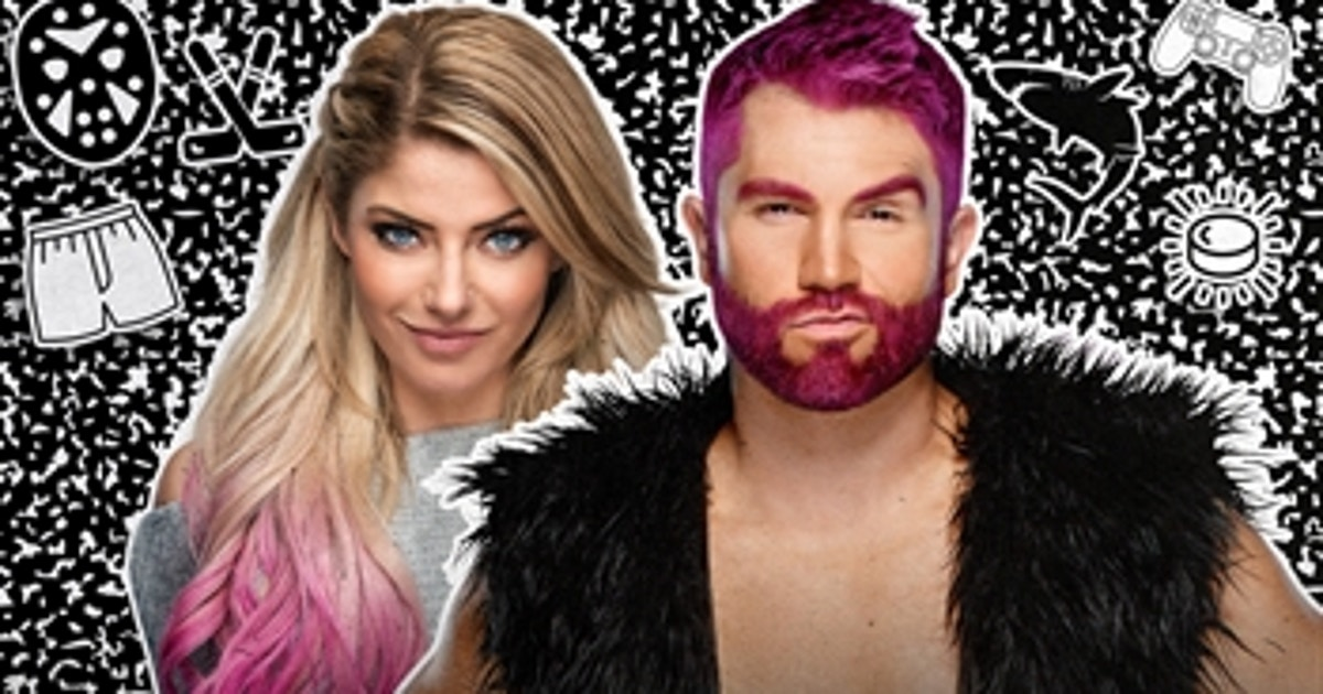 Tyler Breeze's pink Jeff Hardy hair: Uncool with Alexa Bliss, Oct. 27, 2020 (VIDEO)