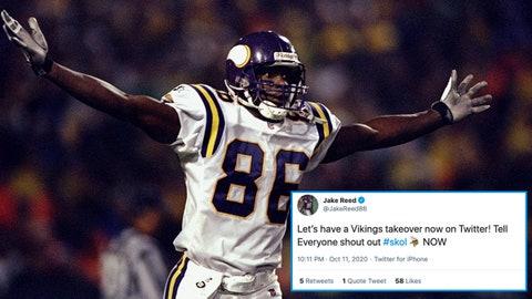 Jake Reed, former Vikings receiver