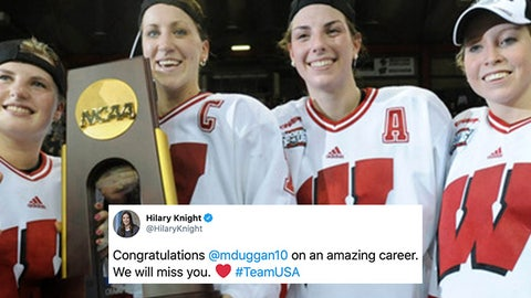 Hilary Knight, former Badgers