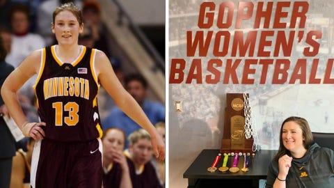 Lindsay Whalen, Gophers basketball head coach