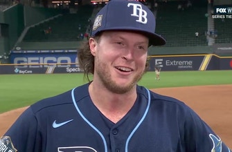 Rays' Brett Phillips re-lives his walk-off single in Game 4 of the World Series