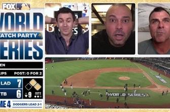 World Series walk off: Rick Ankiel, Nick Swisher, Ben Verlander react to wild Rays-Dodgers finish