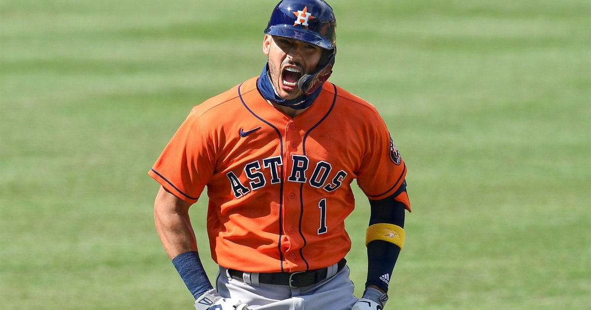Astros react to Carlos Correa's two-homer ALDS Game 1: 'He feels like he's getting hot'