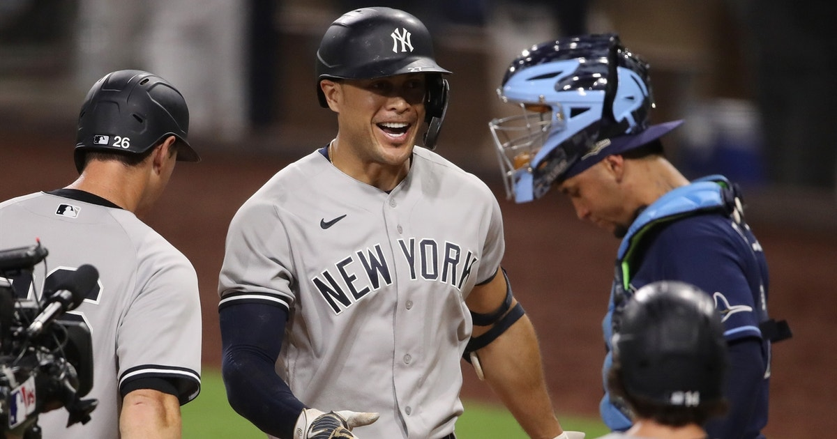 Giancarlo Stanton grand slam delivers Yankees 9-3 ALDS Game 1 win over Rays