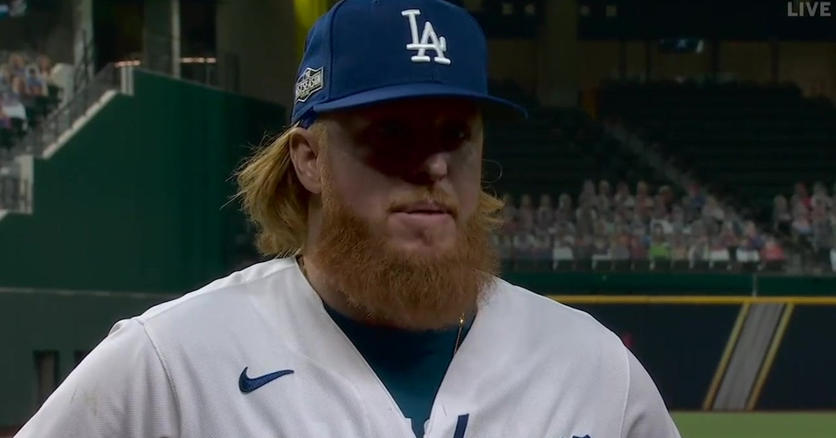 Justin Turner on getting NLDS Game 1: 'It's always good to get Game 1 under your belt'