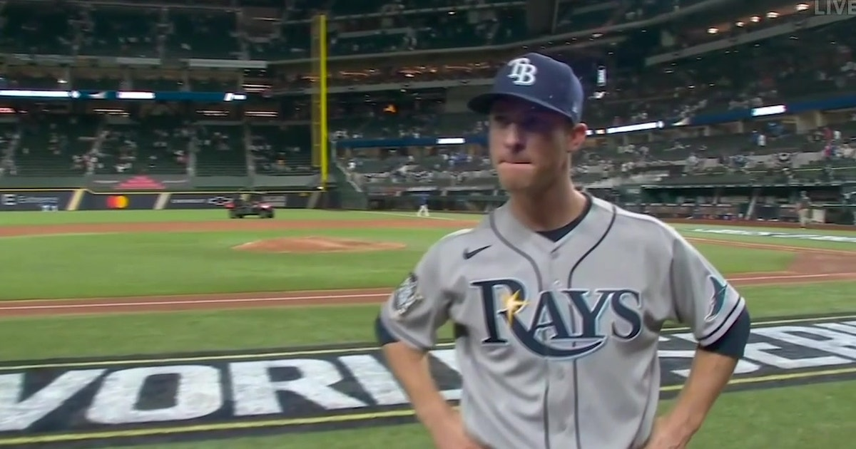 Joey Wendle re-lives Rays 6-4 win over Dodgers in Game 2 of World Series