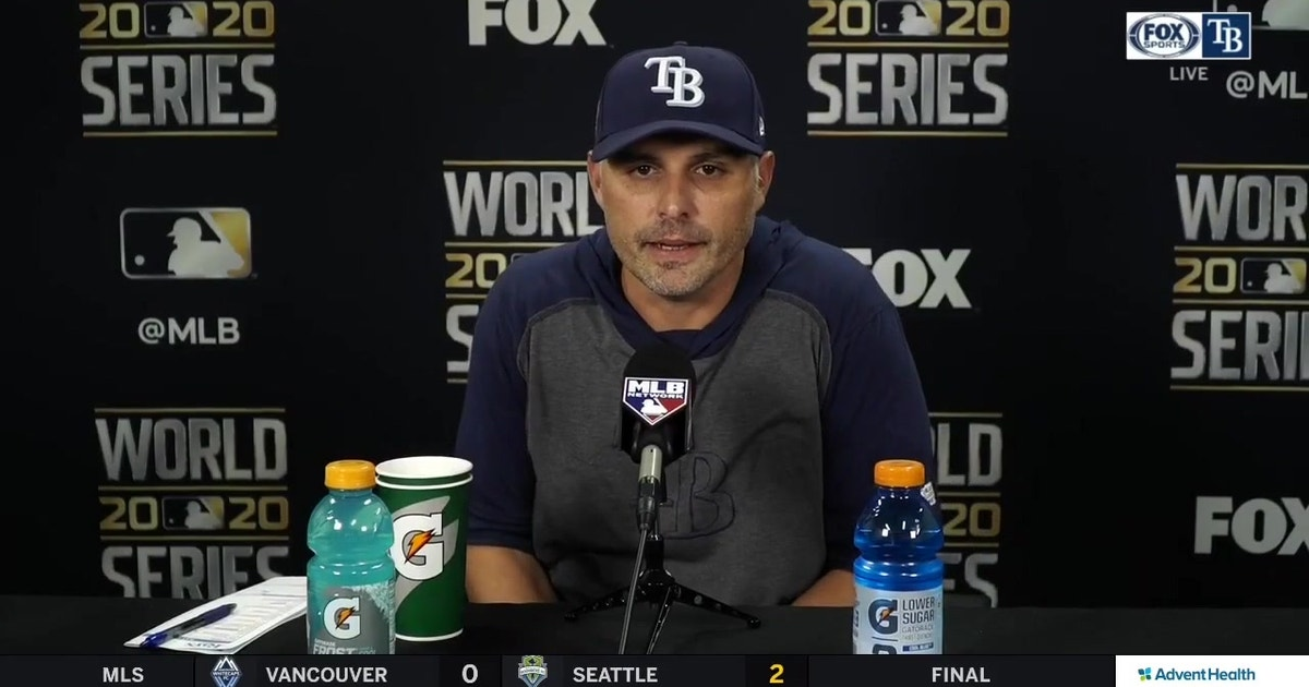Kevin Cash breaks down Rays' season-ending loss to Dodgers in Game 6 of World Series