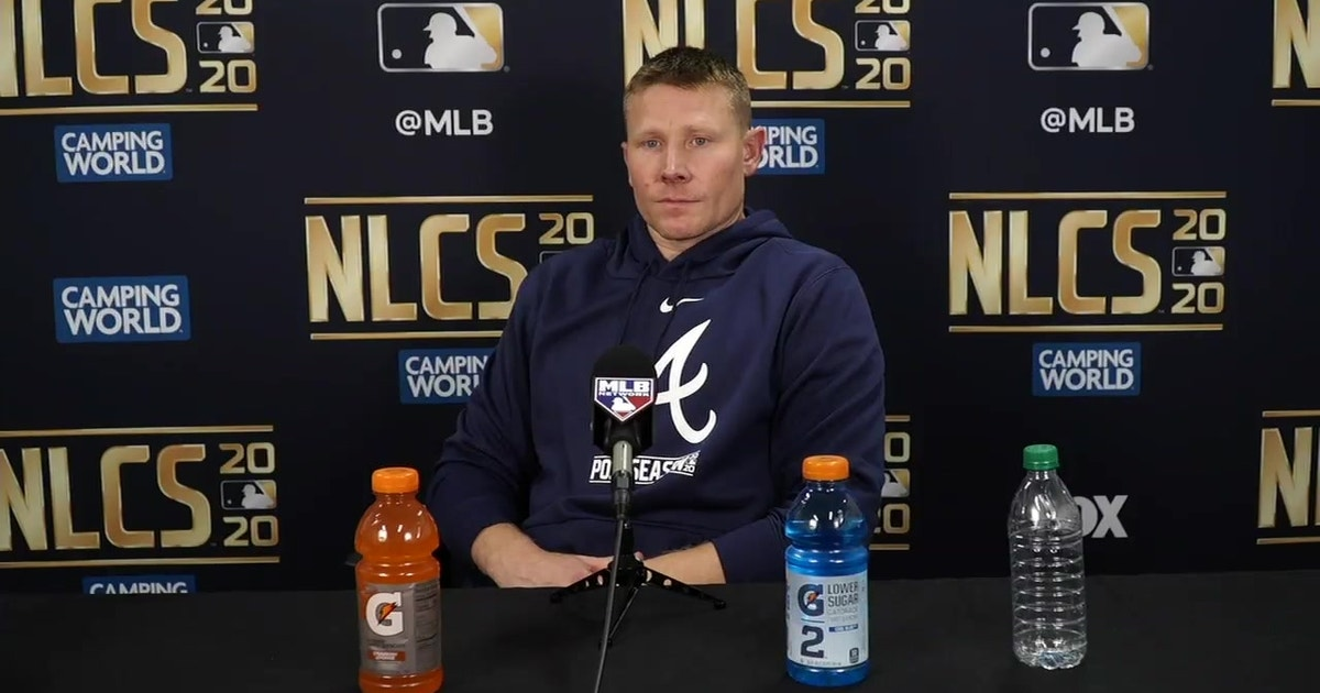 Mark Melancon on catching another Ozzie Albies home run ball and another…interesting question