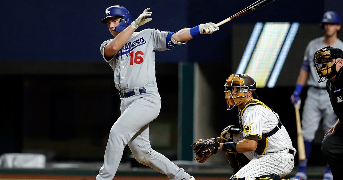 Will Smith sets new Dodgers playoff record with five hits in win vs. Padres