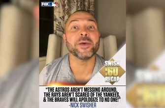 Braves, Marlins tempers flare, Rays, Dodgers, Astros all get wins — Nick Swisher's LDS recap