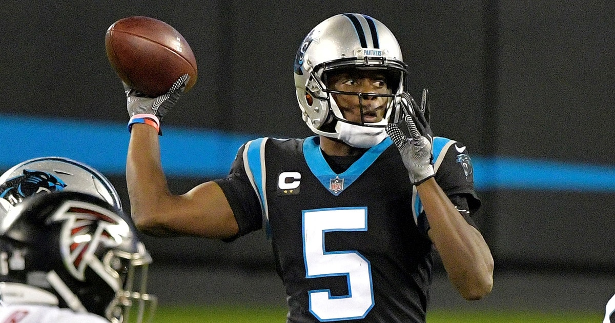 Teddy Bridgewater throws costly interception as Panthers fall to Falcons, 25-17 (VIDEO)