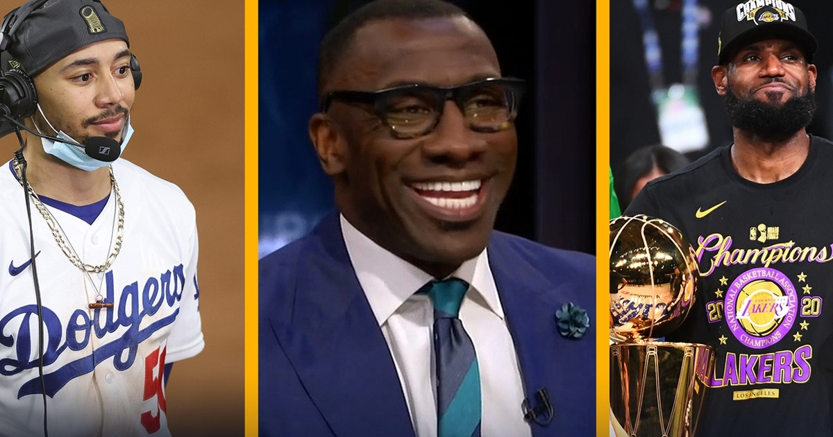 Shannon Sharpe decides which LA championship was more impressive, Mookie's Dodgers or LeBron's Lakers | UNDISPUTED (VIDEO)
