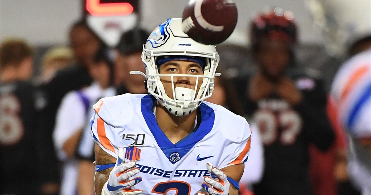 Boise State dominates Utah State, 42-13, behind Hank Bachmeier-to-Khalil Shakir connection