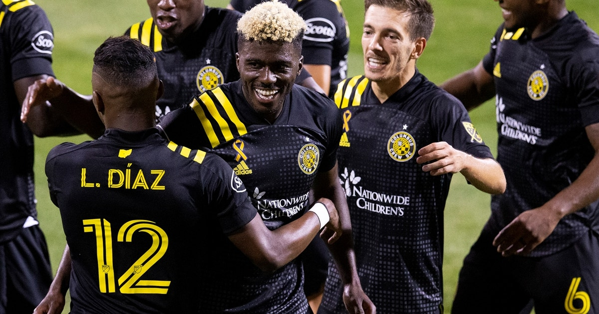 Gyasi Zardes puts NYCFC away with late goal, Columbus Crew win, 3-1 (VIDEO)