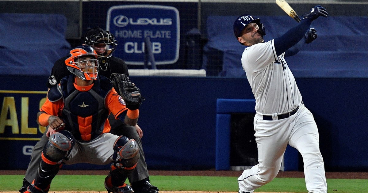 Mike Zunino solo homer gives Rays 3-0 lead over Astros in ALCS Game 7