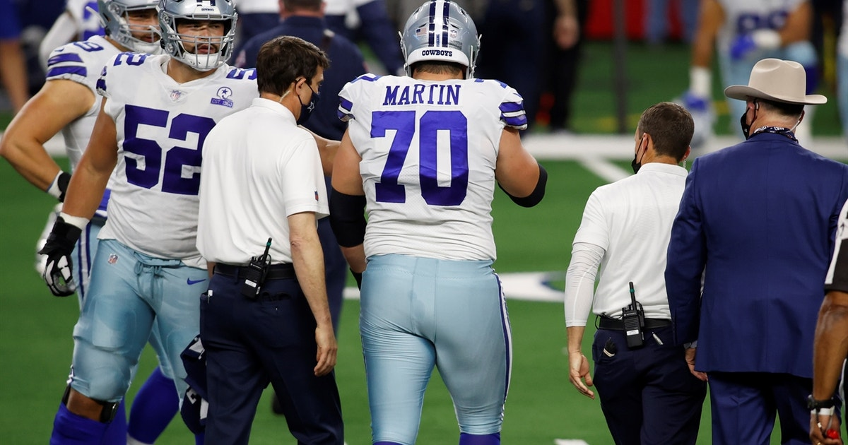 Cowboys OG Zack Martin's concussion — when can we expect him back? | Dr. Matt Provencher