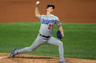 Dodgers' Walker Buehler dominates Game 3, striking out a postseason career record 10 batters